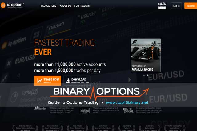 binary options brain review brokers